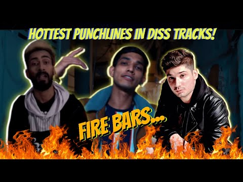 My TOP 25 BEST PUNCHLINES IN DESI DISS TRACKS|| When DISS turns CREATIVE