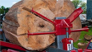 Video EXTREME Fastest Firewood Processing Machines, Largest Wood Cutting Chainsaw Machine MP3, 3GP, MP4, WEBM, AVI, FLV Februari 2019