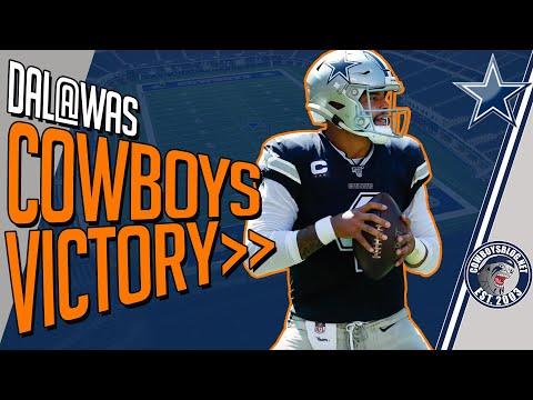 Cowboys vs Redskins Postgame   Cowboys Week 2 Win