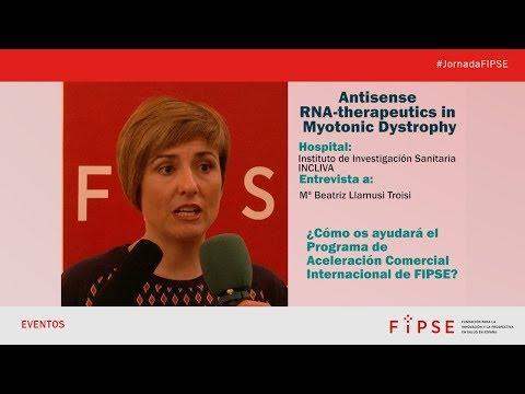Terapia contra la distrofia miotónica - Programa de ACI-FIPSE 2018