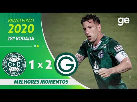 CORITIBA 1 X 2 GOIÁS | MELHORES MOMENTOS | 28ª RODADA BRASILEIRÃO 2020 | ge.globo