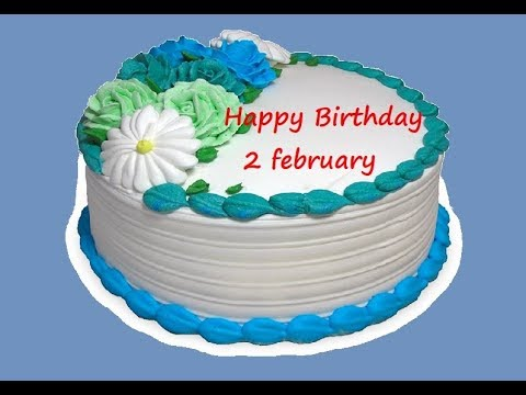 Birthday messages - Special 2 february birthday status video  happy birthday wishes whatsapp status जन्मदिन