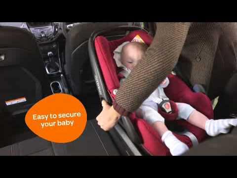 Автокресло Maxi-Cosi Pebble Plus Digital Rain (бежевое)