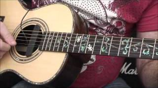 Fishman Neo D accoustic sound hole PU, fitting and review.