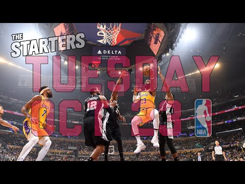 Video: NBA Daily Show: Oct. 23 - The Starters