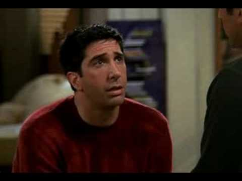 friends - Friends - S08E04 - The One With The Videotape Ross gets help with women from Joey after not having sex for six months. For funny tv quotes, visit: http://www...