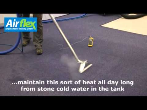 Airflex Carpet Cleaning Machine Demo with Magma Heater