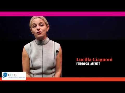 intervista a Lucilla Giagnoni