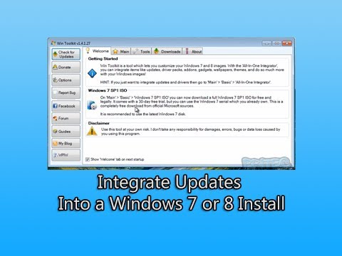 Integrate Updates Into a Windows 7 or 8 Install