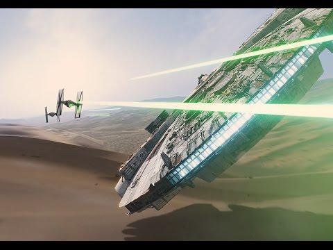 Increibles visuales utilzados en Star Wars: El Despertar de la Fuerza
