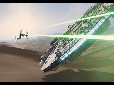 Watch The Visual Effects Of Star Wars The Force