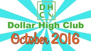 DOLLAR HIGH CLUB UNBOXING! (October 2016) by Strain Central