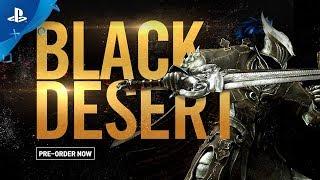 Дата релиза Black Desert на PlayStation 4