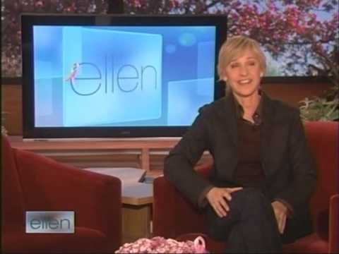"Dakota Fanning on ""Ellen"" 10/15/08"