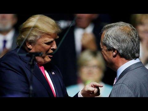 Ο Τραμπ «πρότεινε» τον Φάρατζ για νέο βρετανό πρέσβη στην Ουάσιγκτον