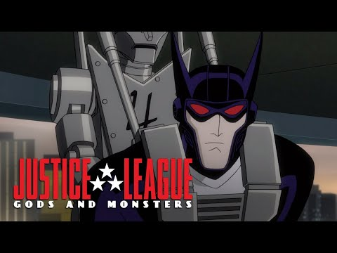 Vampire Batman is defeated | Justice League: Gods And Monsters