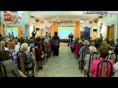 Губернатор Сергей Митин посетил с рабочим визитом Боровичский район