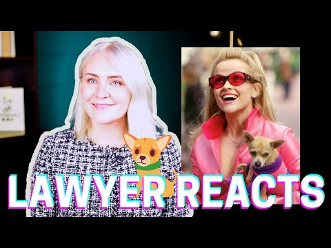 Blonde Lawyer Reacts to LEGALLY BLONDE