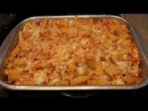 BEST Baked ZITI – EASY TO MAKE – Holiday Recipe – The Lighthouse Lady