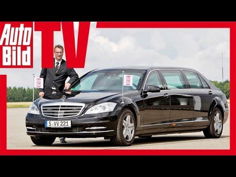 Mercedes pullman guard фотка