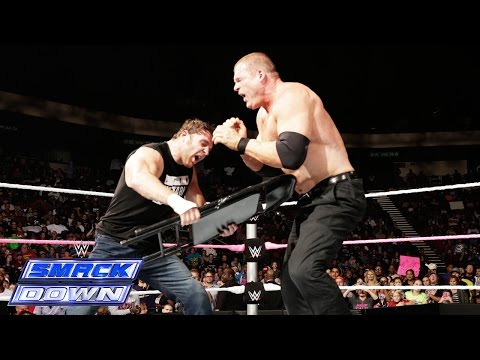 17 - During his match against Corporate Kane, will Dean Ambrose be able to overcome outside distractions from Seth Rollins? See FULL episodes of SmackDown on WWE NETWORK: http://bit.ly/1yiBxts...