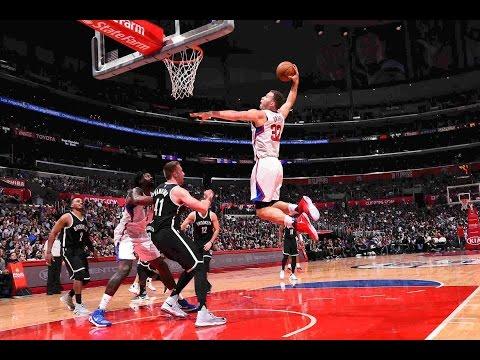 Blake Griffin  DeAndre Jordan Throw Down Monster Slams In L.A.