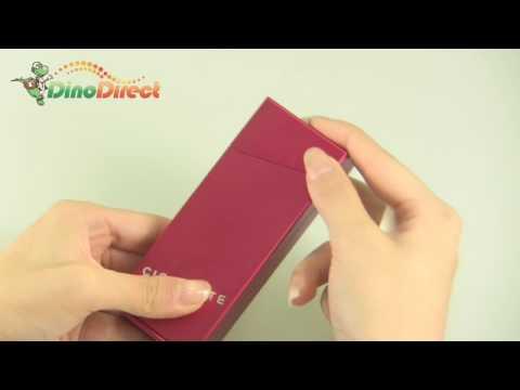 Rectangular Flip Top Cigarette Case Holder Red - dinodirect