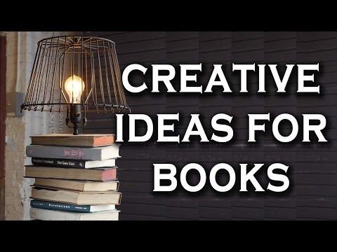 Creative Ideas to Repurpose Old Book