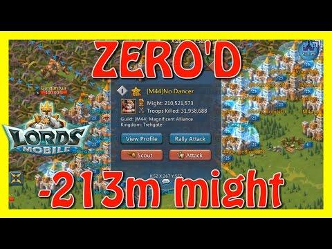 Bren Chong + A2Z zero'd 423m Player - Lords Mobile