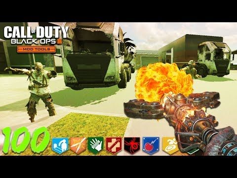 """NUKETOWN ZOMBIES"" REMAKE in BLACK OPS 3! (BO3 Custom Zombie Mod Tools)"