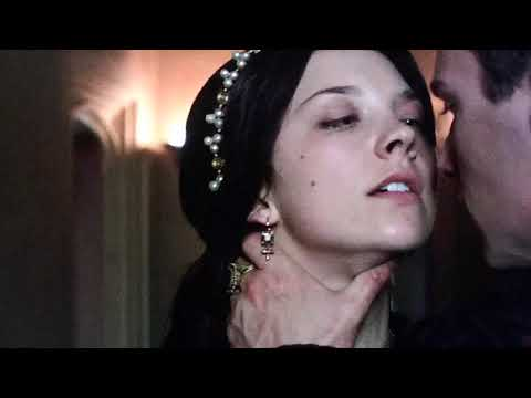 The Tudors 1x04 Anne and Henry's first kiss