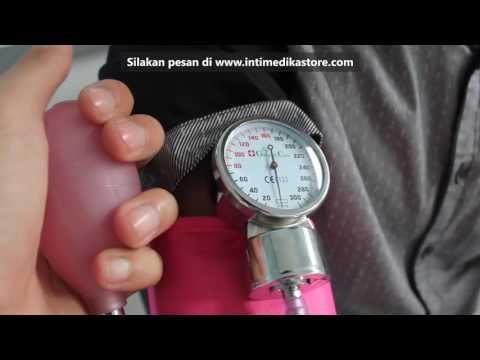 Cara Penggunaan Tensimeter Aneroid GENERAL CARE - Intimedikastore.com