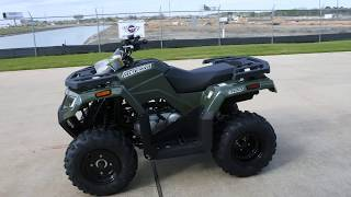 3. SALE $3,999:  2017 Arctic Cat / Textron  Alterra 300 Green Overview and Review