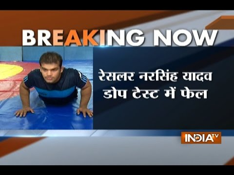 Wrestler Narsingh Yadav fails dope test, Rio Olympics in doubt