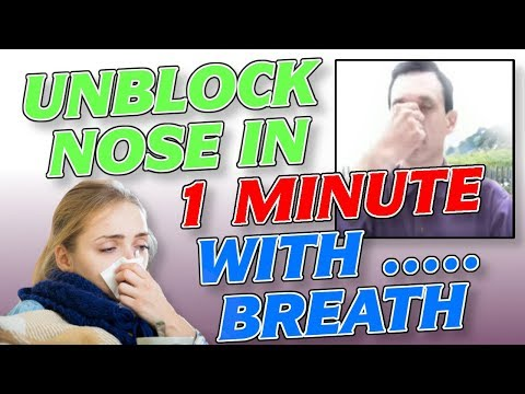 how to unclog nasal sinuses