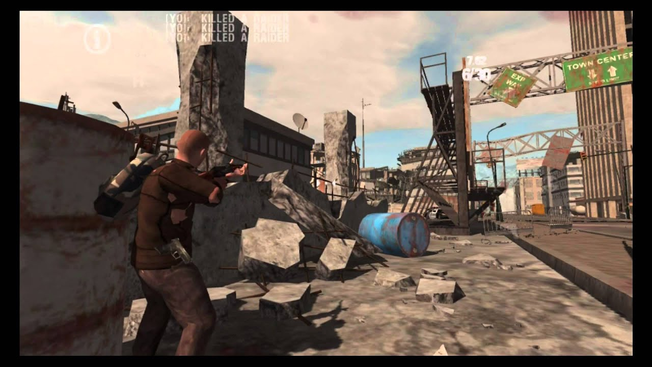 39 barren roads 39 is another post apocalyptic survival for Zombie crafting survival games