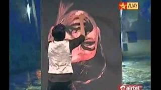 Video Reverse Painting of ilayathalapathy Vijay MP3, 3GP, MP4, WEBM, AVI, FLV Agustus 2018