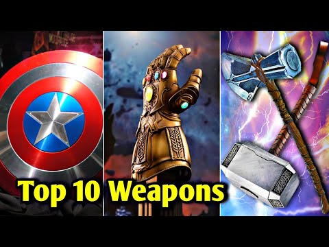 Top 10 Weapons of MCU Explained In HINDI | Marvel's Top 10 Powerful Weapons Explained In HINDI | MCU