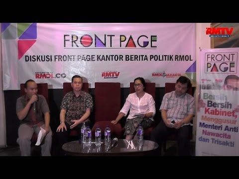 Bersih-bersih Kabinet, Menggusur Menteri Anti Nawacita dan Trisakti