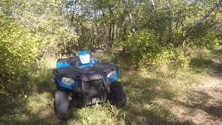 10. My new 2017 Polaris Sportsman 450 first ride