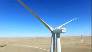 Calhan (CO) United States  City pictures : Aerial Wind Farm in Calhan Colorado