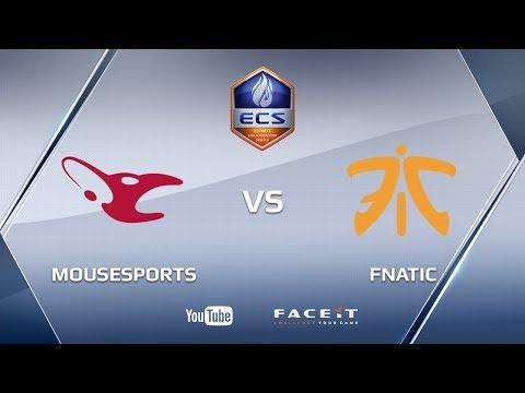 mousesports vs fnatic, nuke, ECS S3 Europe