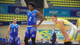 Hightlits of the match— National league: «Astana»vs «Sinegoryie» (1-st match)