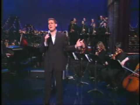 Michael Bublé - Feeling Good (Live on Letterman)