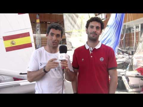 Saludo Paz Sailing Team desde Santander