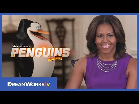 Penguins of Madagascar (Viral Video 'Michelle Obama & Veterans Day')