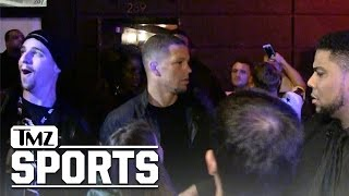 Nate Diaz a Surprise Guest at Conor McGregor's Party | UFC | TMZ Sports