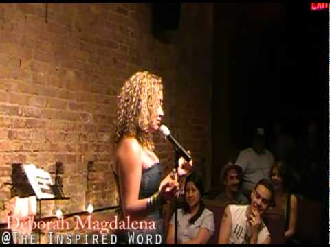 Spoken Word Poet Deborah Magdalena @ Mike Geffner Presents The Inspired Word