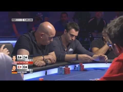 impossible poker hand win – BUSQUET – EPT 11 barcelona final table 2014 HD