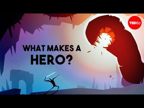 hero - View full lesson: http://ed.ted.com/lessons/what-makes-a-hero-matthew-winkler What trials unite not only Harry Potter or Frodo Baggins but many of literature...